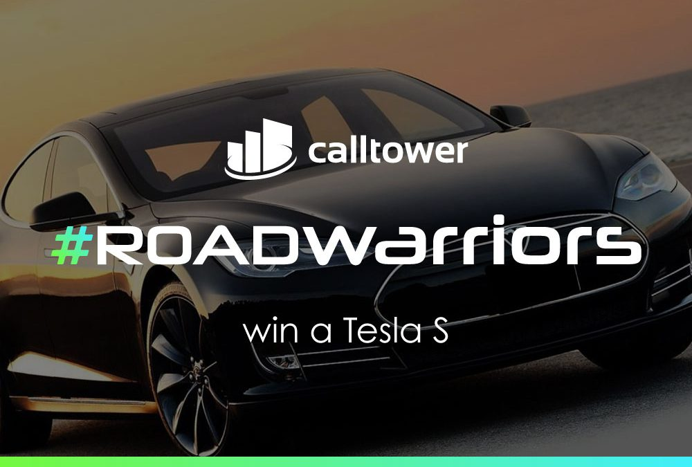 CallTower names Kathleen Waters of Creekview Group the Winner of the Road Warriors Tesla Giveaway